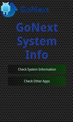 System Information Go Next
