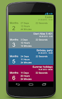 Screenshot of Countdown - Free