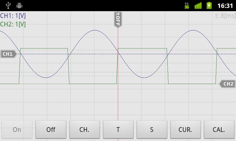 OsciPrime Oscilloscope Legacy - screenshot