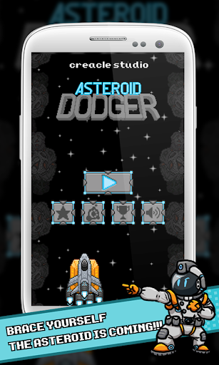 Arcade Game: Asteroid Dodger