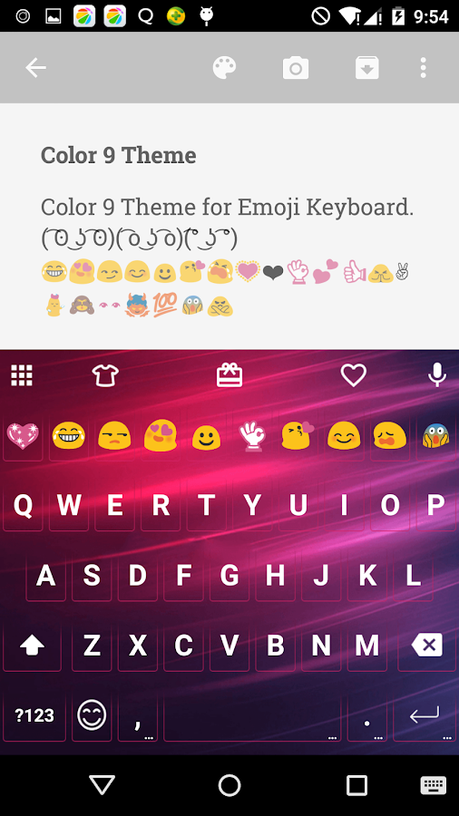 how to get color emoji on android