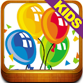 Kids Balloon Boom Game