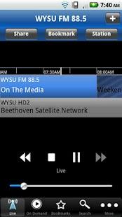WYSU Public Radio App - screenshot thumbnail