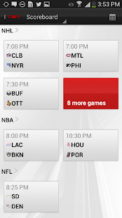 TSN Mobile: Android Edition - screenshot thumbnail