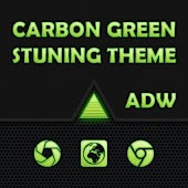 ADW Green Carbon Fiber Theme