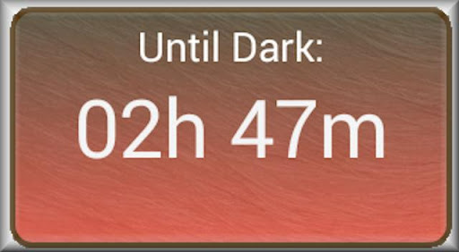 How Long Until Dark