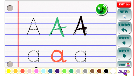 ABC Learning letters toddlers APK screenshot thumbnail 2