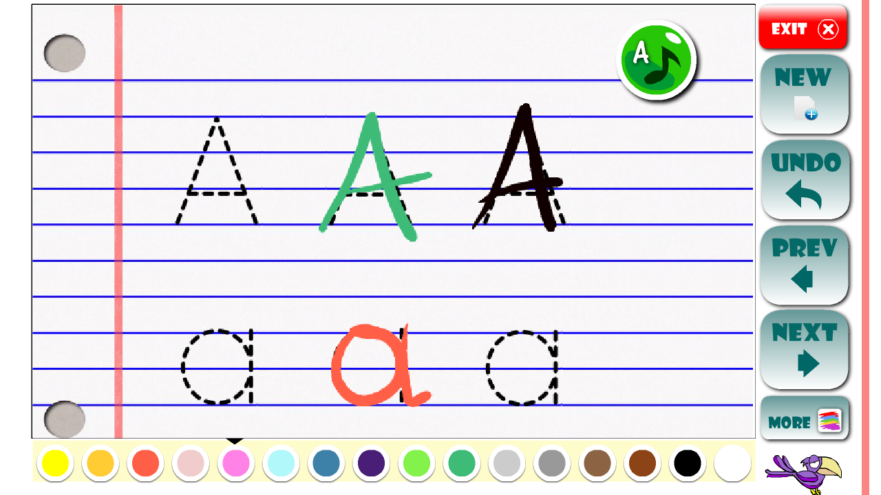 abc learning letters toddlers android apps on google play
