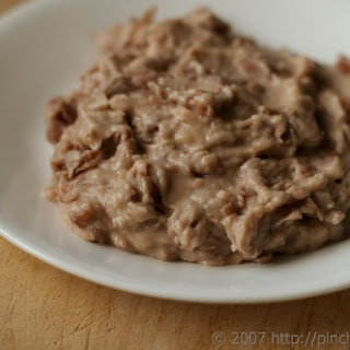 Semi-Homemade Refried Beans Recipe