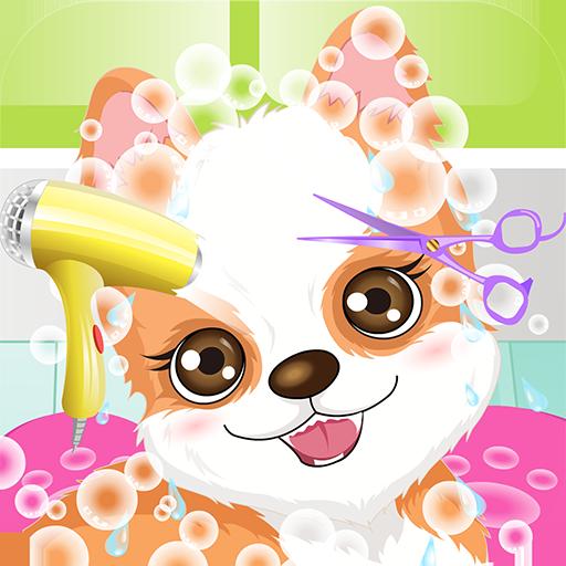 My Cute Puppy Spa Game