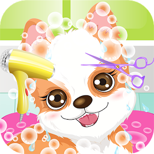 My Cute Puppy Spa Game for PC and MAC