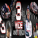3 Wide and 1 to Go logo