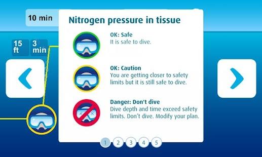 DiveMax NITROX Dive Planner- screenshot thumbnail
