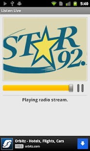 Star 92.9 - screenshot thumbnail