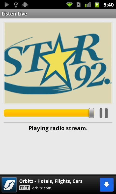 Star 92.9 - screenshot