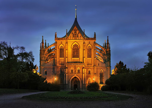 St. Barbara's Church in Kutna Hora, the Czech Republic, is a gem of Gothic architecture. It's a UNESCO World Heritage Site.