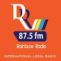Rainbow Radio 87.5 fm logo