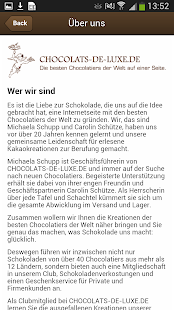 chocolats-de-luxe.de - screenshot thumbnail
