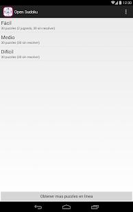 Open Sudoku - screenshot thumbnail