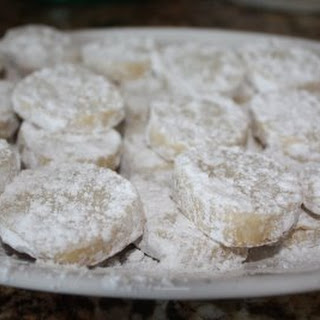 Recipe for Lime Meltaway Cookies