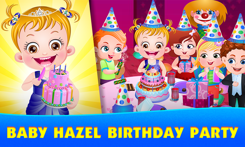 Baby Hazel Party Games- screenshot