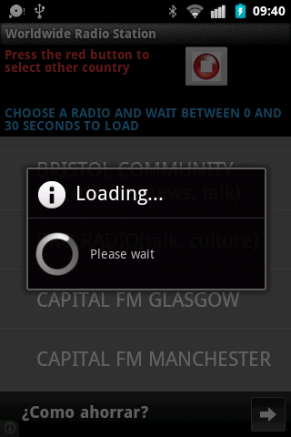 Worldwide Radio Station- screenshot