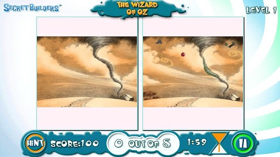 Hidden Difference Game Wiz Oz- screenshot thumbnail