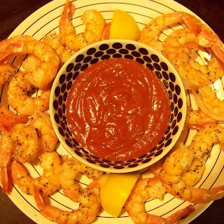 Cocktail Sauce for Roasted Shrimp.