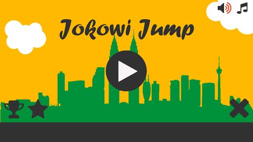 Jokowi Jump Runner