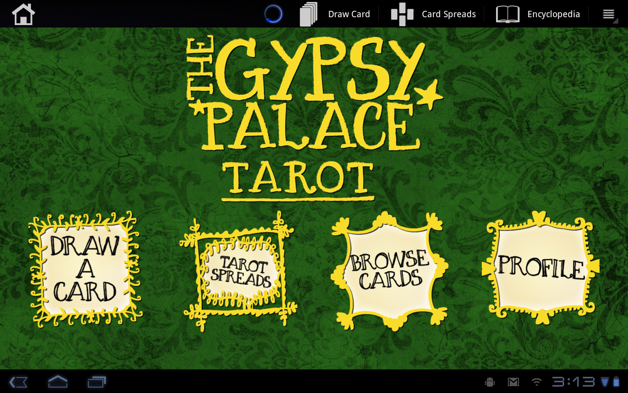 Gypsy Palace Tarot- screenshot
