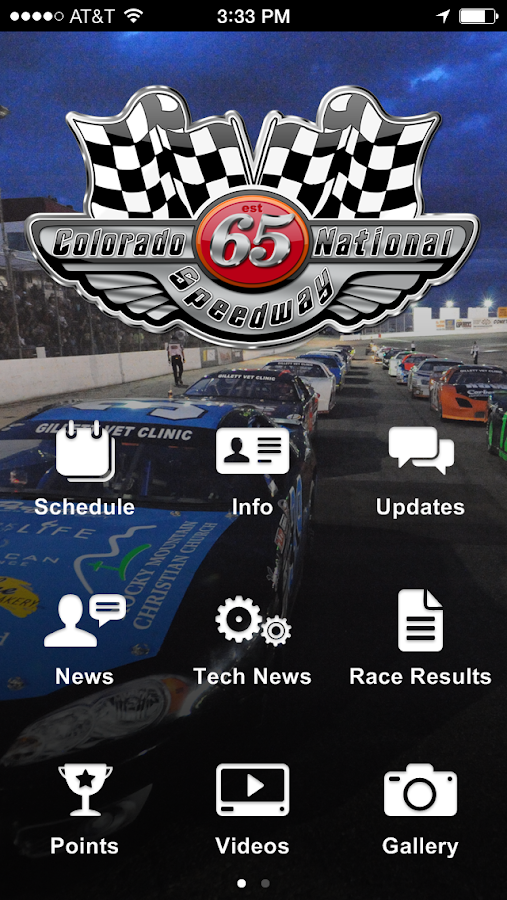 Colorado National Speedway - screenshot