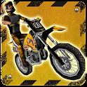 3D Motocross Bike: Industrial icon