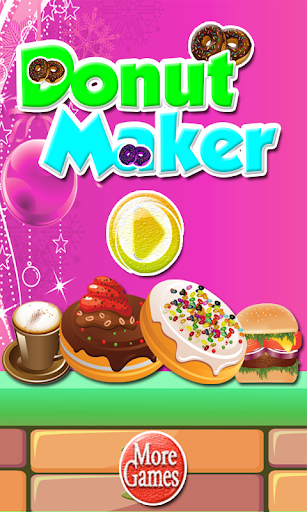 Donut Maker-Kids Cooking Candy