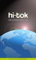 Screenshot of Free Int'l Call - HiTok