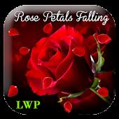 Rose petals falling LWP