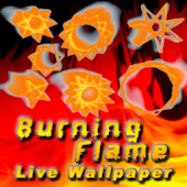 Burning Flame Live Wallpaper