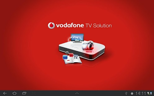 Vodafone TV Solution Tablet - screenshot thumbnail
