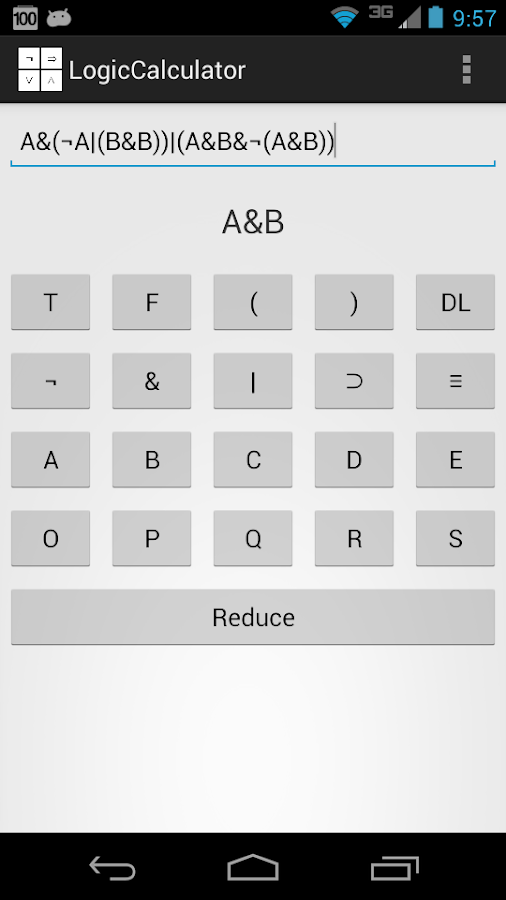 Logic Calculator Android Apps On Google Play