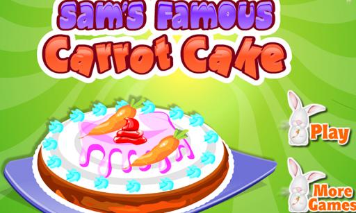 著名胡蘿蔔蛋糕製造者兒童