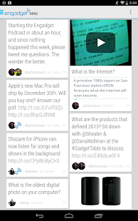 Engadget Mini - screenshot thumbnail