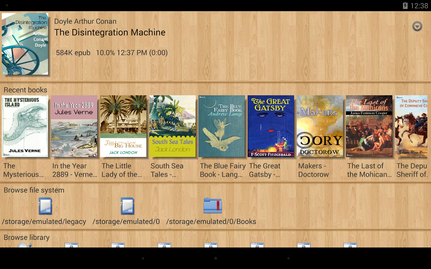 EBook Reader & Free ePub Books- screenshot