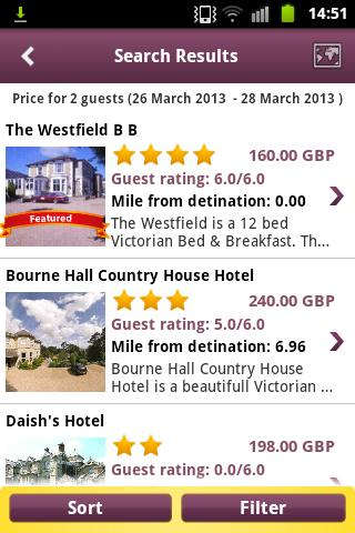 LateRooms Hotels Searcher - screenshot
