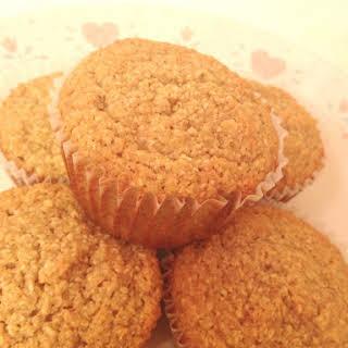 Almond & Oat Cinnamon Spiced Muffins.