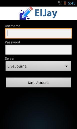 ElJay LiveJournal Client
