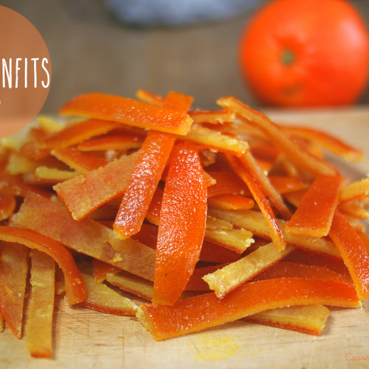 Candied Orange and Orangettes