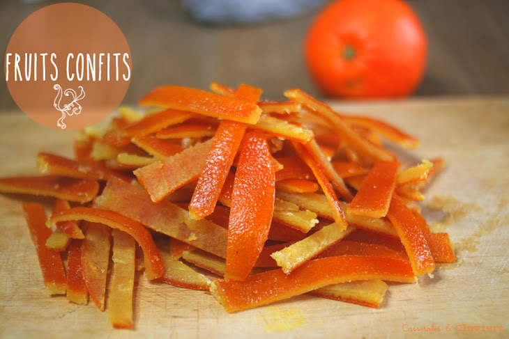 Candied Orange and Orangettes Recipe