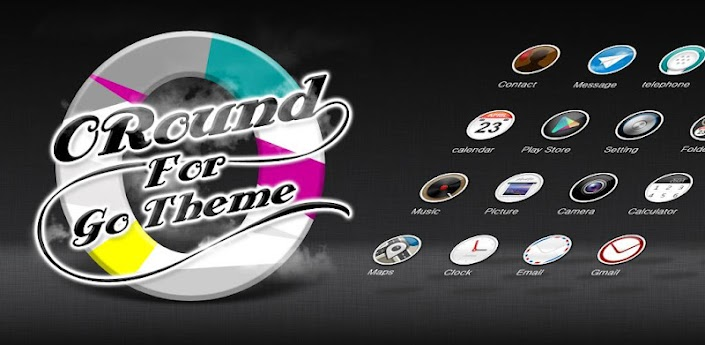 ORound GO LauncherEX Theme apk
