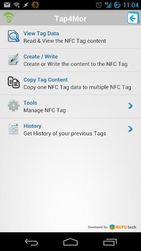 Tap4Mor NFC Writer