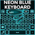 Neon Blue clavier icon