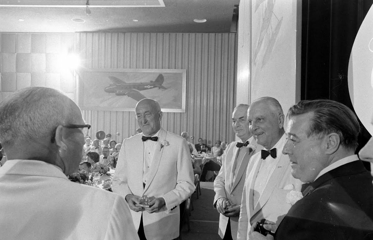 Boeing's Fiftieth Anniversary Party And Festivities